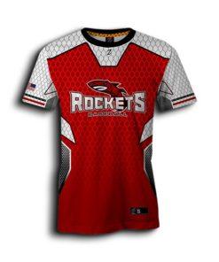 red baseball jersey custom youth