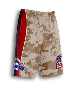 sublimated baseball coach shorts