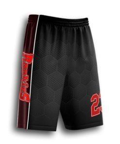 short baseball pants sublimated