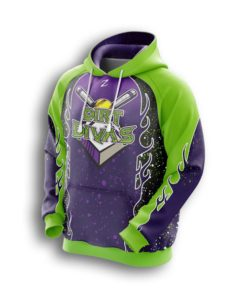 Youth custom Fastpitch hoodies