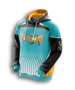 Womens sublimated Fastpitch hoodies