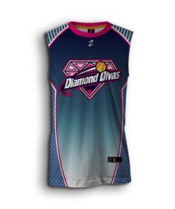 Softball sleeveless jersey