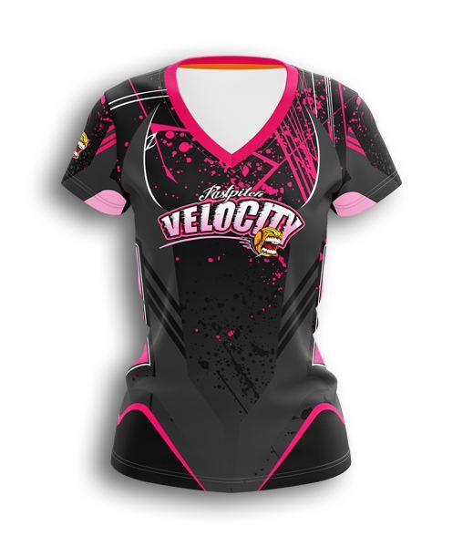 6da7148838b custom vneck fastpitch jerseys - full-dye custom Fastpitch uniform