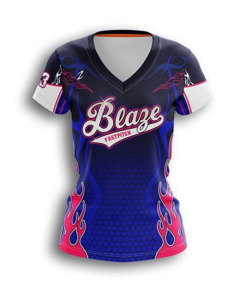watch a2d55 02245 camo softball vneck jersey - full-dye custom softball uniform
