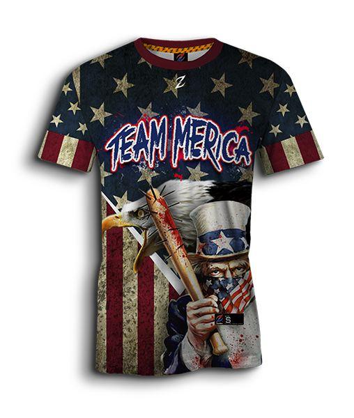 cheap for discount f4275 58167 patriotic sublimated softball jerseys - full-dye custom ...