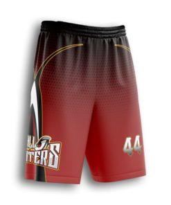 Youth's custom softball shorts- full-dye custom softball uniform