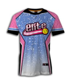 fully sublimated fastpitch jerseys crew neck