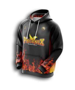 Men custom basketball hoodie