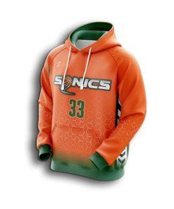 Men custom basketball hoodies