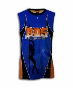 custom dye fastpitch jersey