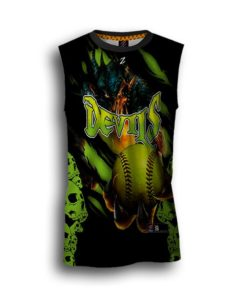 custom fastpitch jersey sublimated